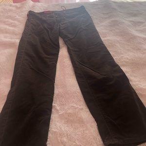 Corduroy brown pants